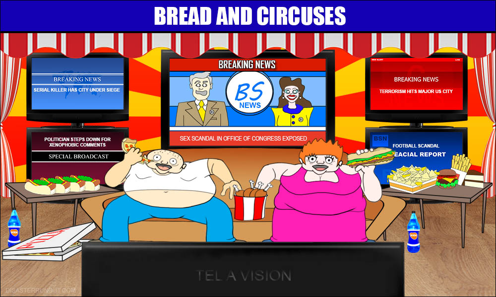 Image result for modern bread and circuses